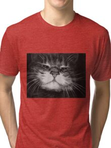 The Cat Who Walks by Himself Tri-blend T-Shirt