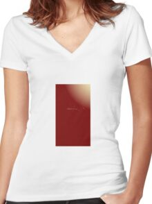 Guess Women's Fitted V-Neck T-Shirt