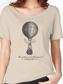 Jules Verne - The Future is but the Present Women's Relaxed Fit T-Shirt