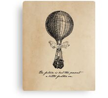 Jules Verne - The Future is but the Present Canvas Print