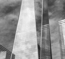 One WTC Sticker