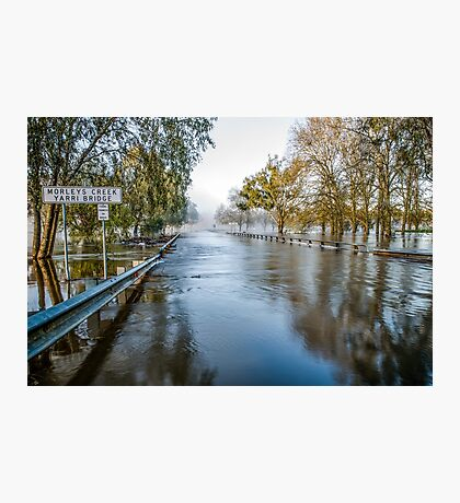 The Spirits Amidst The Flooded Waters Photographic Print