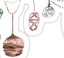 Christmas Ornaments Sticker