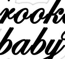 Brooklyn baby Sticker