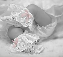 Pink bows by Lyn Evans