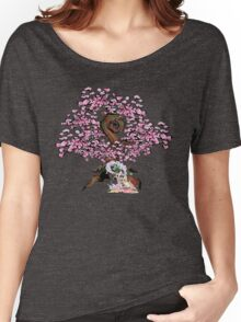 Sakuya & Ammy under a Cherry Blossom Tree Women's Relaxed Fit T-Shirt