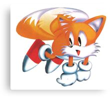 Tails - Sonic The Headgehog Canvas Print