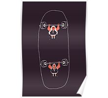 Heavyweight Skateboarding Poster