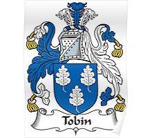 Tobin Coat of Arms (Irish) Poster
