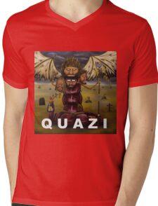The Quazi Funk Slug Mens V-Neck T-Shirt