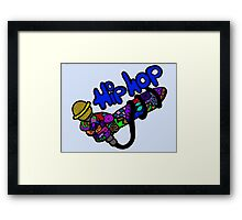 Ode to Hip Hop Framed Print