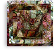 Abalone Abstract Canvas Print