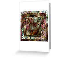 Abalone Abstract Greeting Card