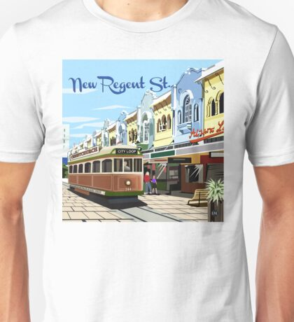 New Regent Street, Christchurch Unisex T-Shirt