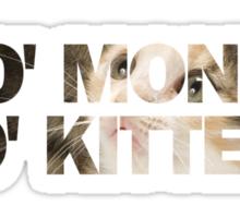 Mo' Money, Mo' Kittens 1 Sticker