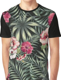 Tropical Leave pattern 5 Graphic T-Shirt