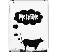 Global warming - cow methane iPad Case/Skin