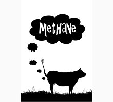Global warming - cow methane Unisex T-Shirt