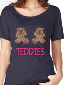 Stop Staring At My Teddies Women's Relaxed Fit T-Shirt