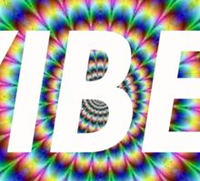 Vibes Trippy Tie Dye Sticker