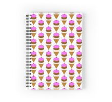 Ice cream notebook Spiral Notebook