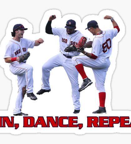 Win dance repeat Red Sox  Sticker