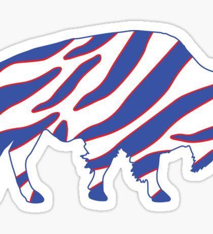 Buffalo Zubaz Sticker