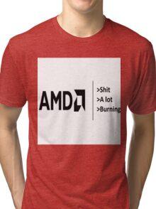 AMD be like Tri-blend T-Shirt
