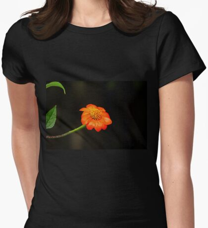 Mexican Sunflower Womens Fitted T-Shirt