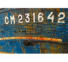 Wooden Shipwrecks Photographic Print