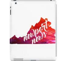Newport News iPad Case/Skin