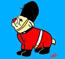 A very british bulldog by Xavierboldu