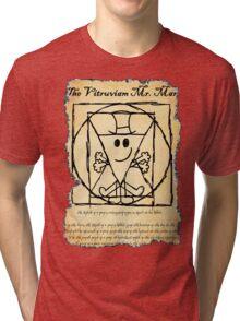 THE VITRUVIAN MR. MAN Tri-blend T-Shirt