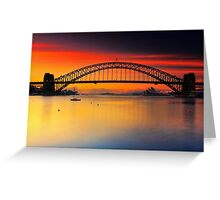 Vivid Sunrise Greeting Card