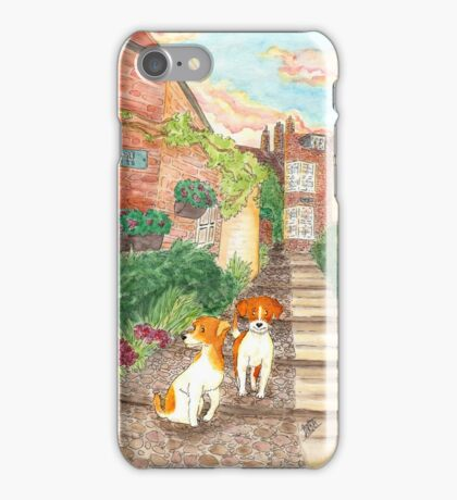 Old Town Jack Russel Terriers iPhone Case/Skin