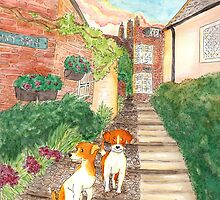 Old Town Jack Russel Terriers by LiseRichardson