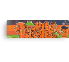Graphic graffiti design  Canvas Print