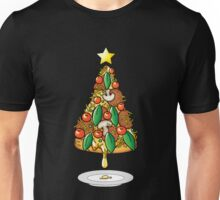 Funny Pizza Lover Christmas Tree Food Costumes T-Shirt Unisex T-Shirt