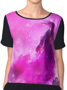 Space Penguin Chiffon Top