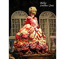 Marie Antoinette in Roses Photographic Print