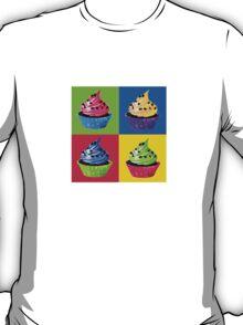 Cupcake Pop Art T-Shirt