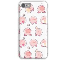 smol kirby stickers iPhone Case/Skin