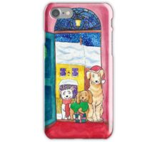 Three jolly dogs iPhone Case/Skin