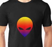 Gradient Alien Unisex T-Shirt