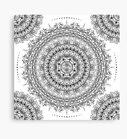 A Balanced Blooming Canvas Print