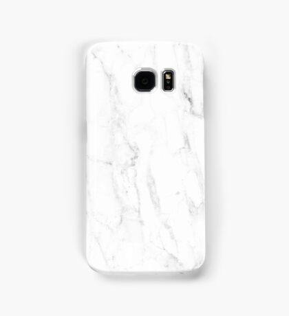 WHITE MARBLE PHONE CASE Samsung Galaxy Case/Skin