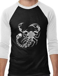 Scorpion Ornate Men's Baseball ¾ T-Shirt