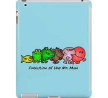 EVOLUTION OF THE MR. MAN iPad Case/Skin