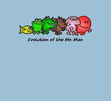 EVOLUTION OF THE MR. MAN Unisex T-Shirt