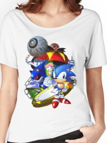 Sonic CD - Sonic the Hedgehog Women's Relaxed Fit T-Shirt